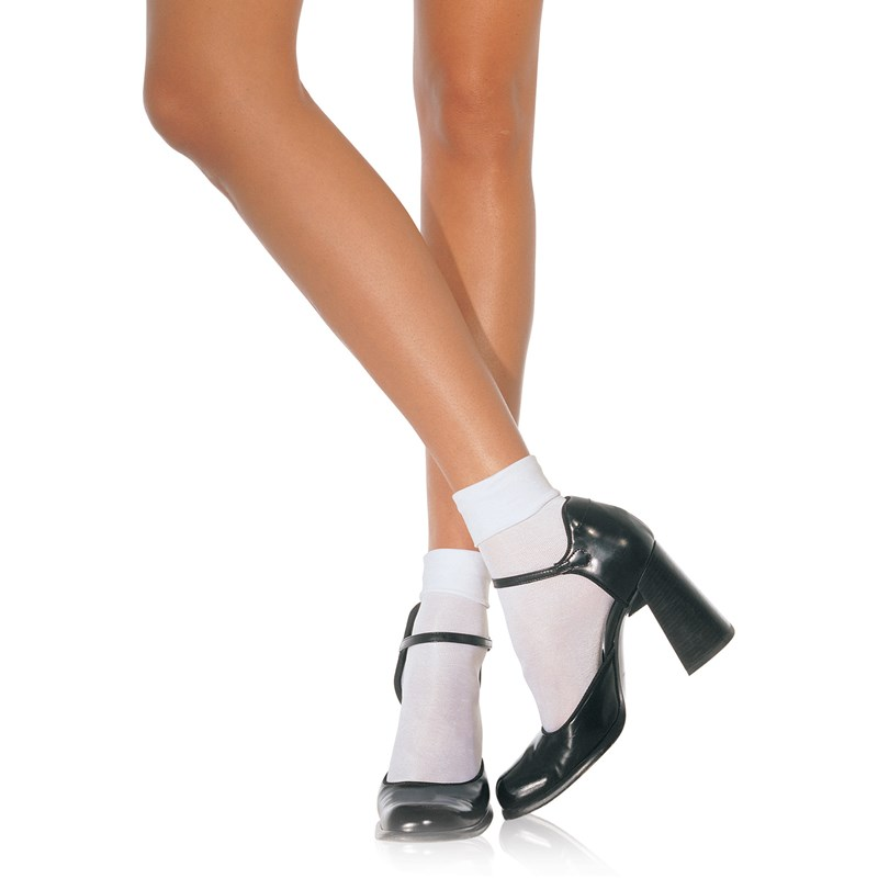 Nylon Cuff Anklet Socks Adult for the 2015 Costume season.