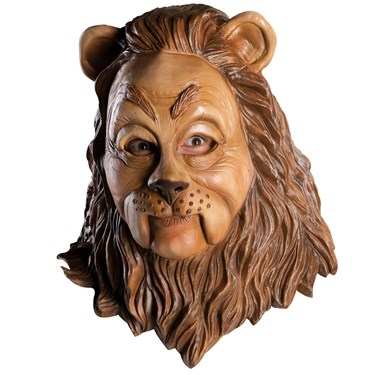 The Wizard of Oz Cowardly Lion Deluxe Adult Mask