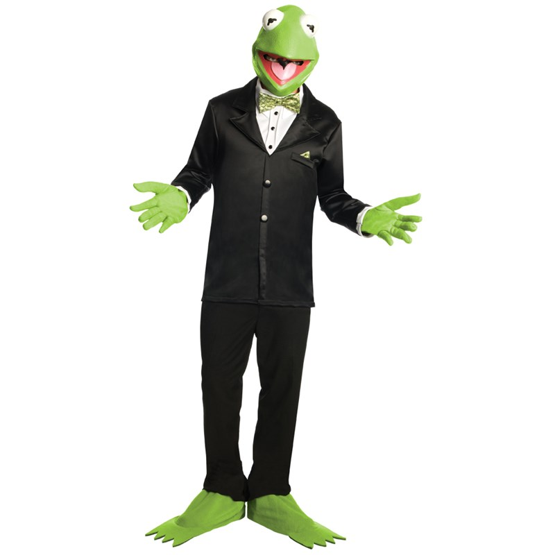 The Muppets Kermit Adult Costume for the 2015 Costume season.