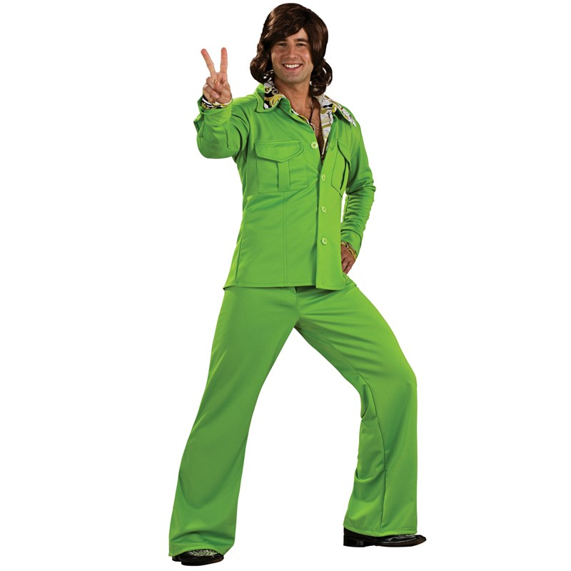 Leisure Suit Deluxe (Lime) Adult Costume for the 2015 Costume season.