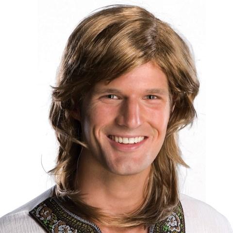70s Guy Brown Wig Adult