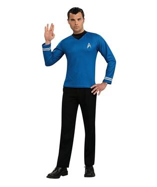 Star Trek Movie Blue Shirt Adult Costume