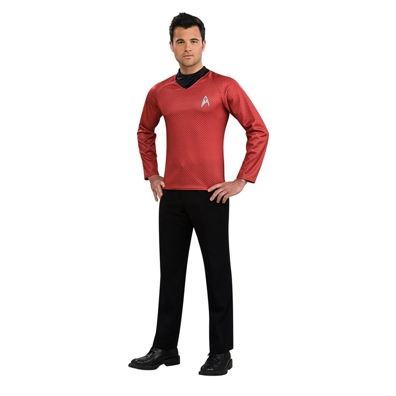 Star Trek Movie   Red Shirt Adult Costume for the 2015 Costume season.
