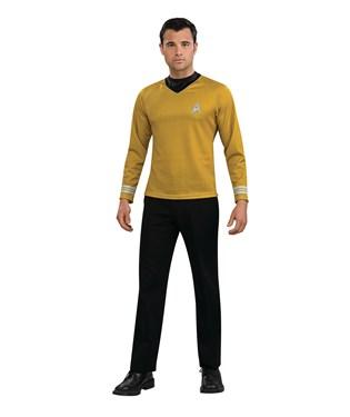 Star Trek Movie Gold Shirt Adult Costume