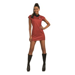 Star Trek Movie Red Dress Deluxe Adult Costume
