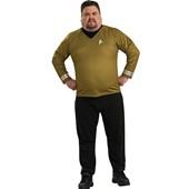 Star Trek Movie 2009 Gold Shirt Deluxe Adult Plus