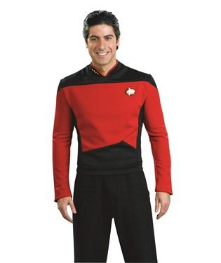 Star Trek Next Generation – Red Shirt Deluxe Adult Costume
