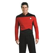 Star Trek Next Generation - Red Shirt Deluxe Adult Costume