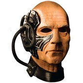 Star Trek Next Generation Locutus Mask Adult