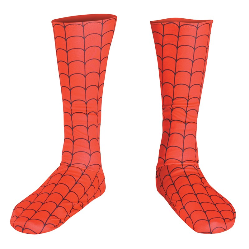 Spider Man Adult Boot Covers for the 2015 Costume season.