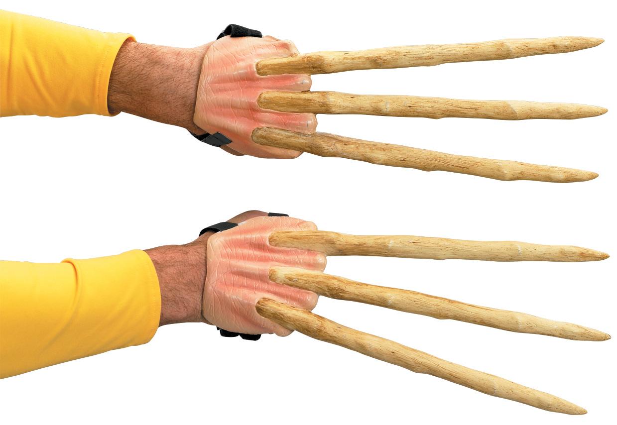 Как сделать когти логана из дерева