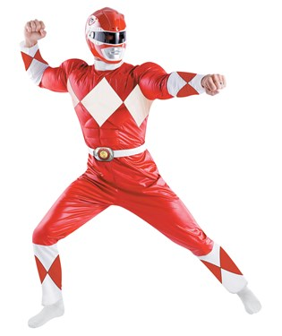 Power Rangers – Red Ranger Classic Adult Costume