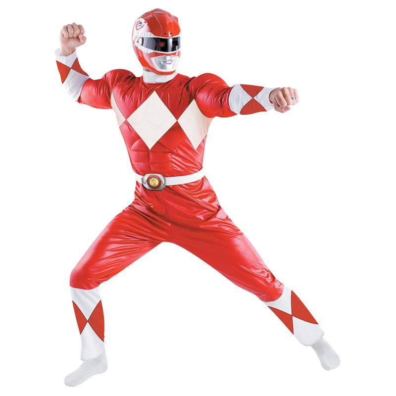 Power Rangers   Red Ranger Classic Adult Costume for the 2015 Costume season.
