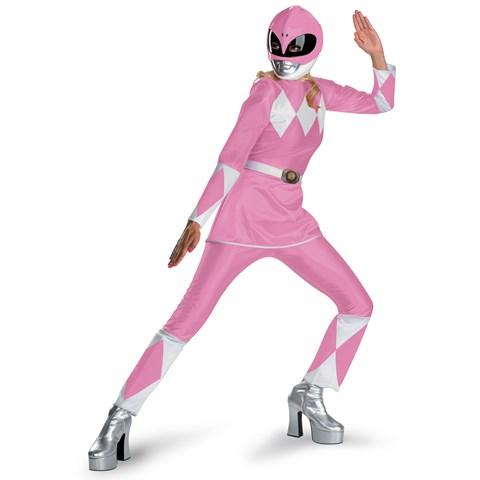 Power Rangers Pink Ranger Deluxe Adult Costume