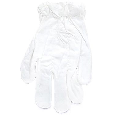 White Cotton Adult Gloves
