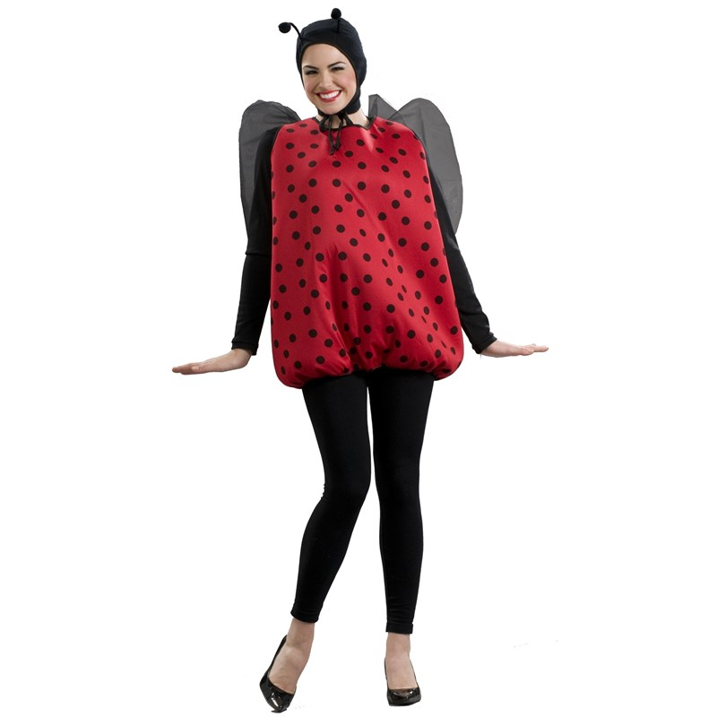 Lady Bug Adult Costume for the 2015 Costume season.