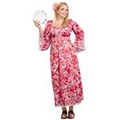 Hippie Flower Child Adult Plus Costume