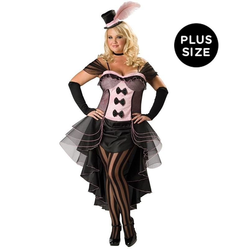 Burlesque Babe Adult Plus Costume for the 2015 Costume season.