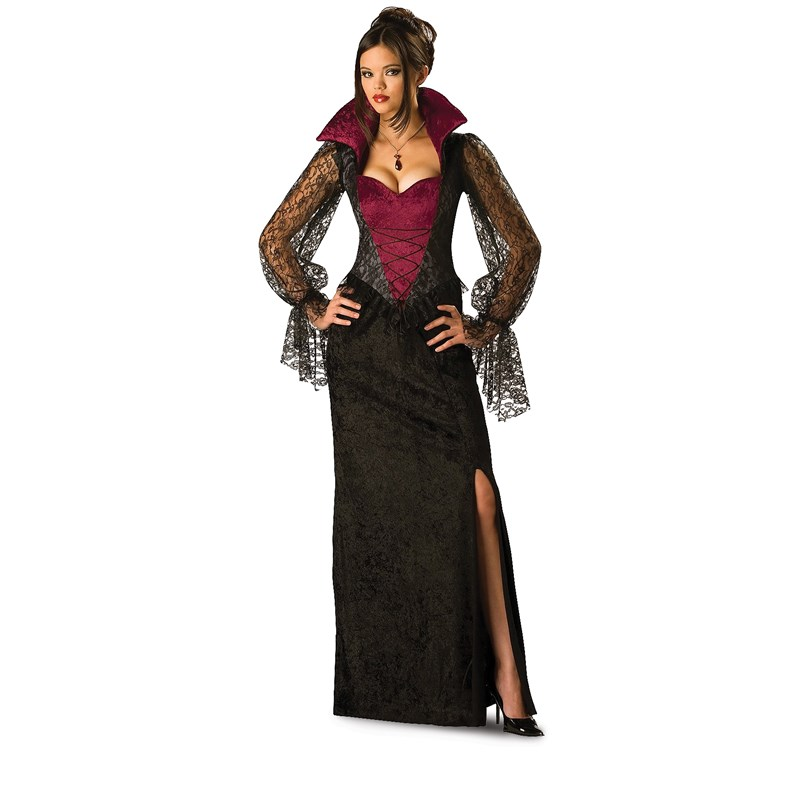 Midnight Vampiress Adult Costume for the 2015 Costume season.