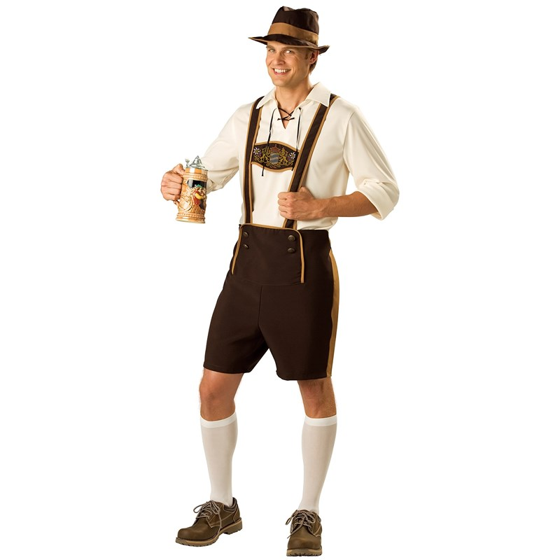 Bavarian Guy Adult Costume for the 2015 Costume season.