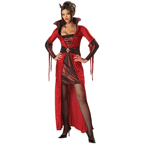 Seductive Devil Adult Costume