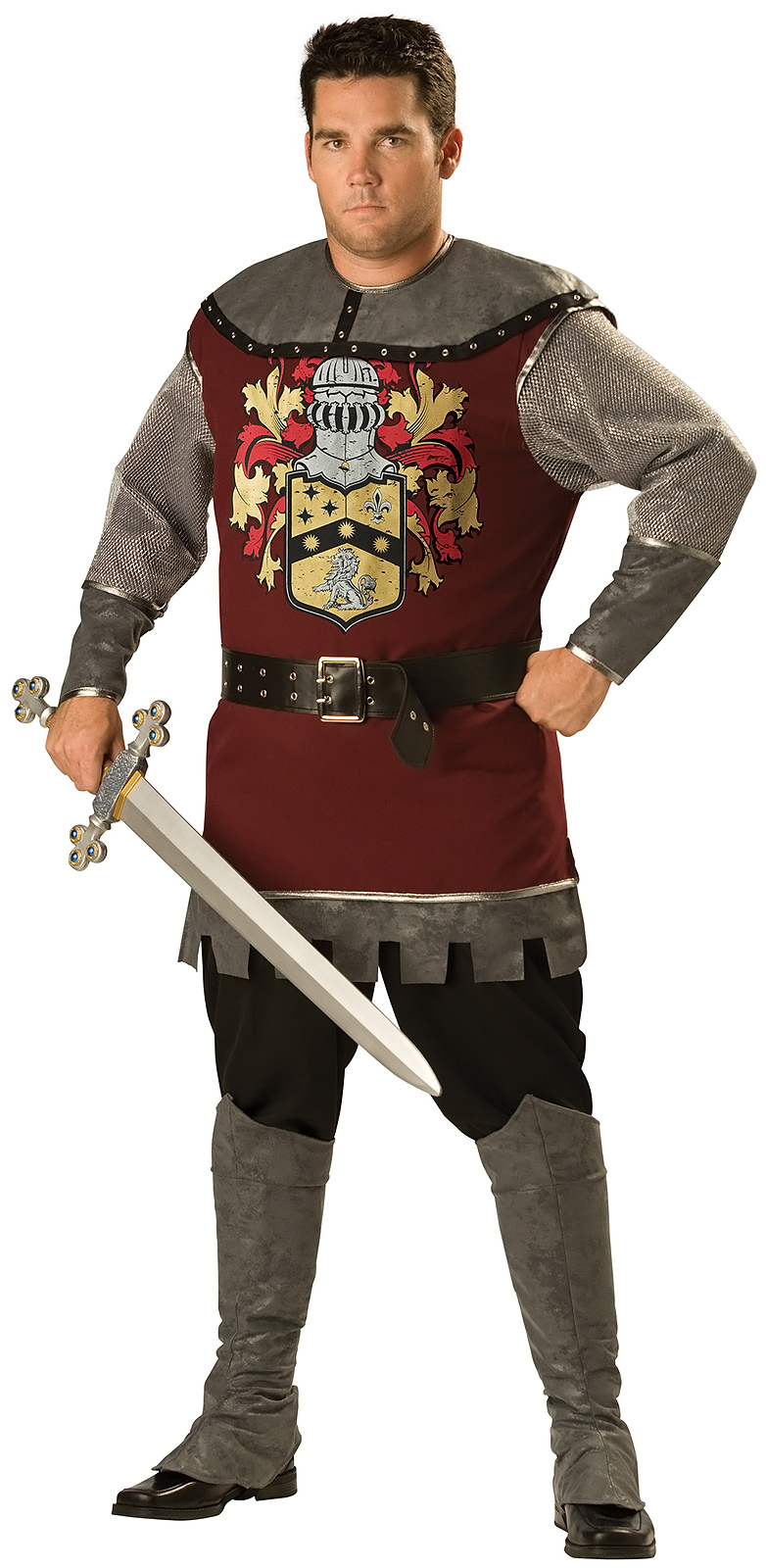 Как сшить костюм рыцаря для мальчика своими руками? 19