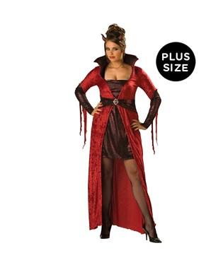 Seductive Devil Adult Plus Costume