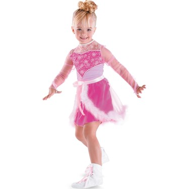 Skating Sensation Barbie Child Costume