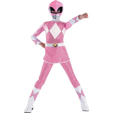 Power Rangers Pink Ranger Deluxe Child Costume