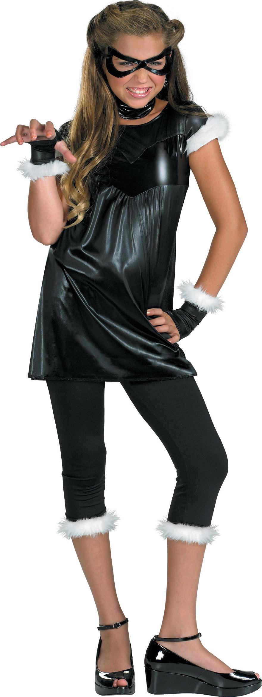 The Amazing Spider-man - Black Cat Girl Pre-Teen / Teen Costume.