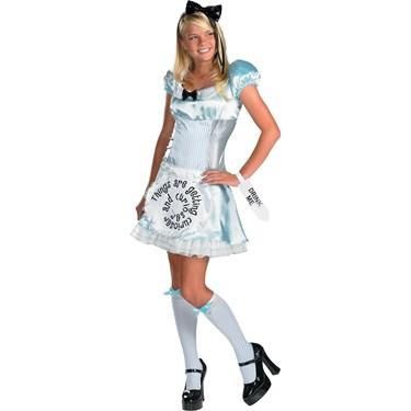 Alice in Wonderland Tween/Teen Costume