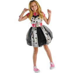 Hannah Montana (Pink with Polka Dots) Dress Child Costume