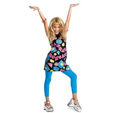 Hannah Montana Shapes Dress Classic Child Costume