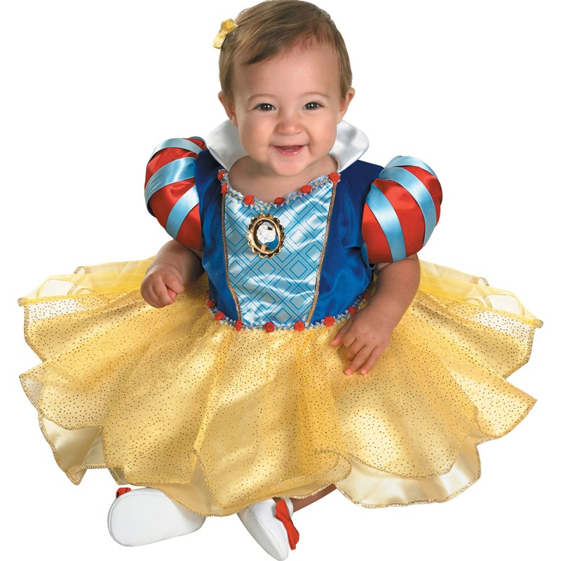 Snow White and the Seven Dwarfs Snow White Infant Costume for the 2015 Costume season.