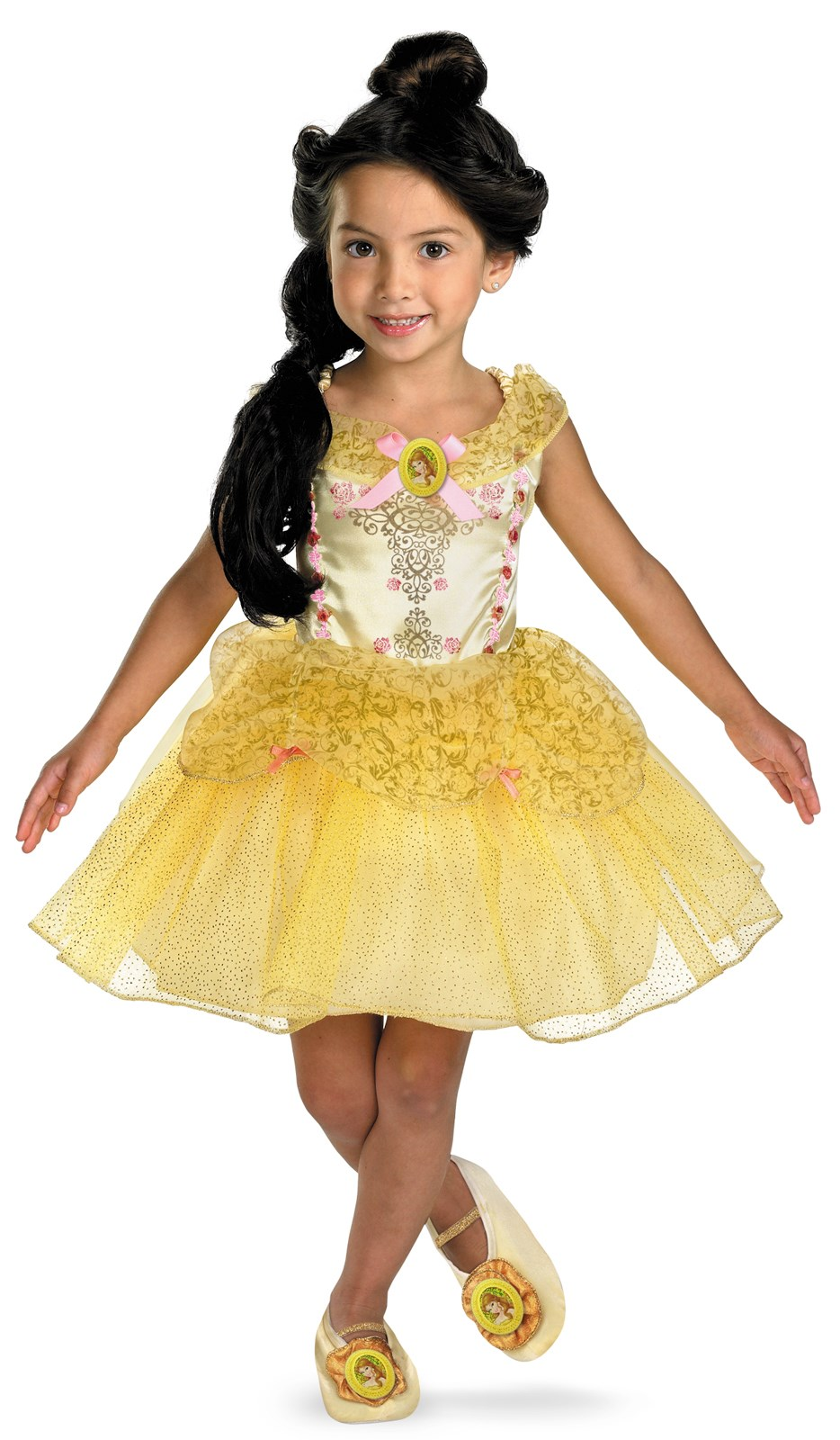 Beauty and the Beast Belle Ballerina Toddler / Child Costume