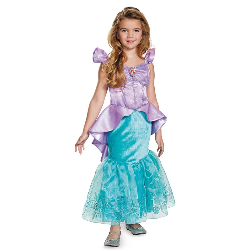 Disney Storybook Ariel Prestige Toddler  and  Child Costume for the 2015 Costume season.
