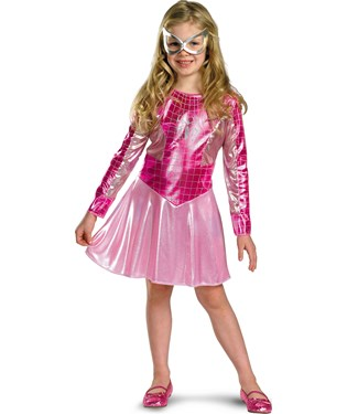 Pink Spider Girl Toddler / Child Costume