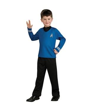 Star Trek Movie Blue Shirt Child Costume