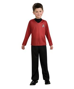 Star Trek Movie Red Shirt Child Costume