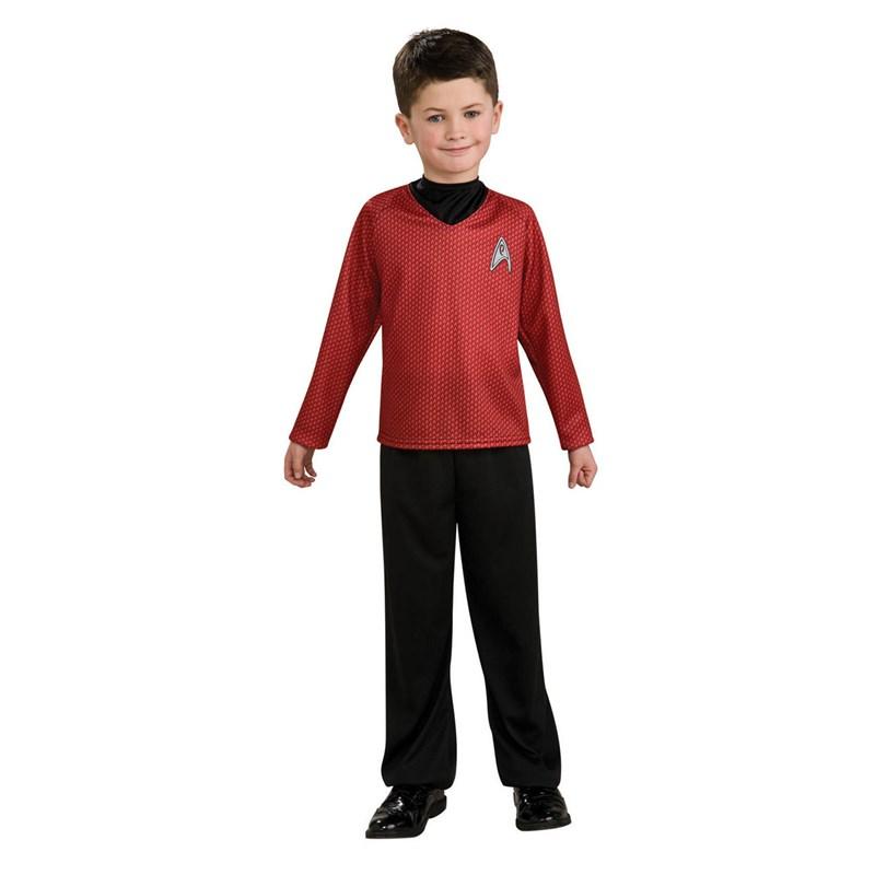 Star Trek Movie (Red) Shirt Child Costume for the 2015 Costume season.