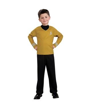 Star Trek Movie Gold Shirt Child Costume