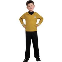 Star Trek Movie (Gold) Shirt Child Costume