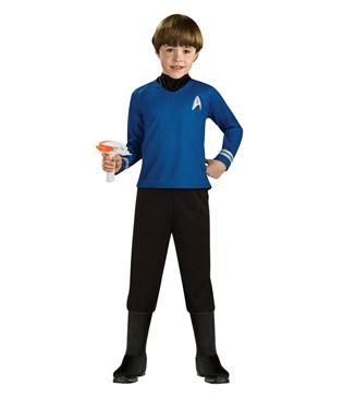 Star Trek Movie Deluxe Blue Shirt Child Costume