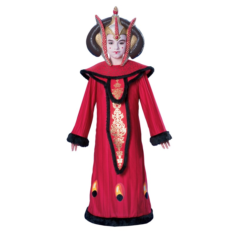 Star Wars Deluxe Queen Amidala Child Costume for the 2015 Costume season.