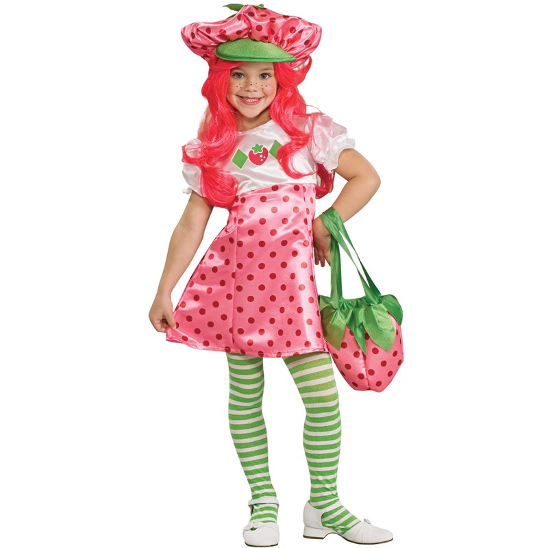 Strawberry Shortcake Deluxe Toddler  and  Child Costume for the 2015 Costume season.
