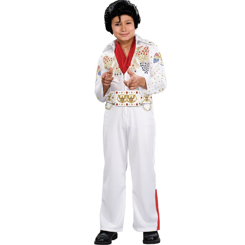 Deluxe Elvis Toddler  and  Child Costume for the 2015 Costume season.