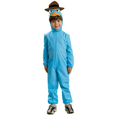 Phineas and Ferb Agent Perry Child Costume