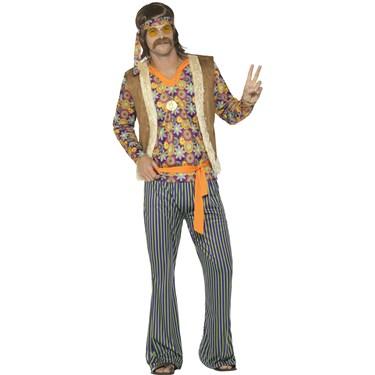 60's Hippie Singer Men's Costume