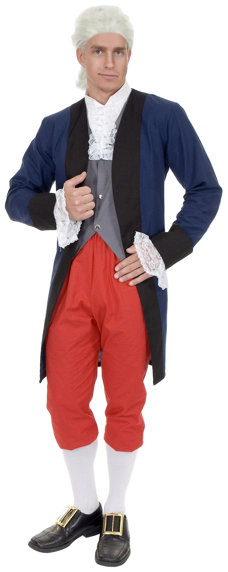 Image of Ben Franklin Colonial Man Adult Costume