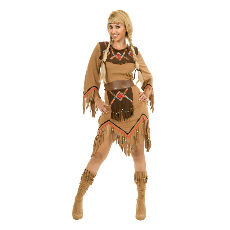 Sacajawea Indian Maiden Adult Costume for the 2015 Costume season.
